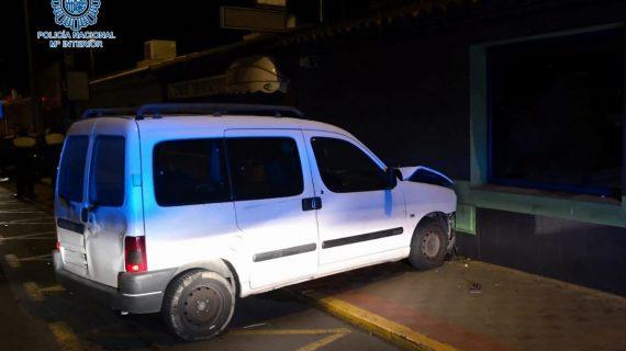Detenidos dos individuos que intentaban robar en un restaurante de Dos Hermanas