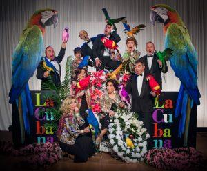 En la imagen, el elenco de La Cubana en 'Adiós Arturo'.