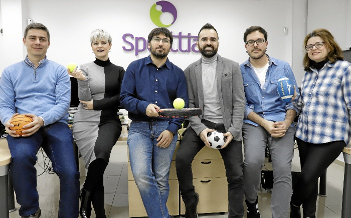 Sporttia, una app sevillana para reservar pistas deportivas a golpe de clic