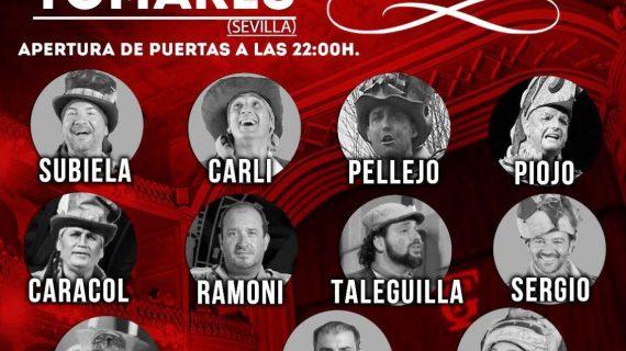 'La voz del Carnaval' esta noche en el Auditorio Rafael de León de Tomares