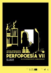 Cartel del festival Perfopoesía en su edición de 2019.
