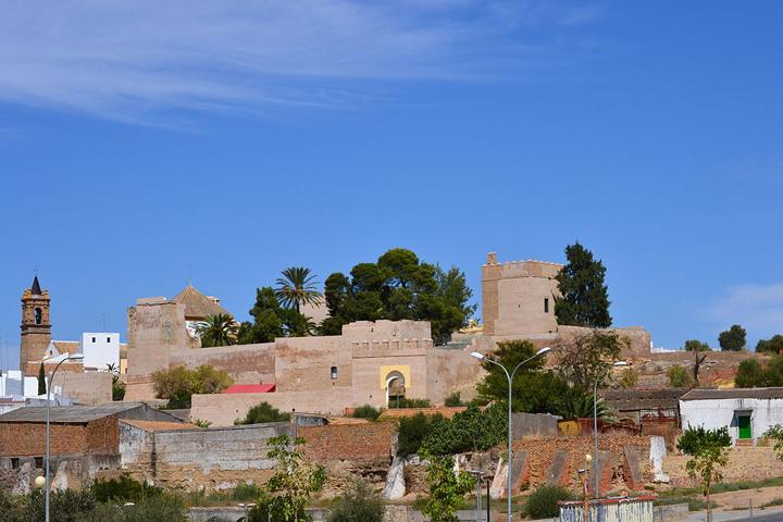 El Castillo de Luna, de Mairena del Alcor. / Foto: Jesús Gavira.