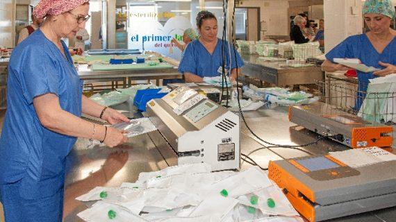 El Virgen del Rocío estrena central de esterilización para sus quirófanos