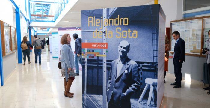 La muestra itinerante del arquitecto Alejandro de la Sota llega a la US