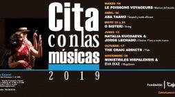 La IX edición del ciclo 'Cita con las músicas' trae sones de folk, swing y música antigua