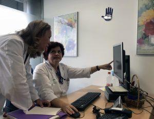 En la imagen, personal del Hospital Universitario Virgen Macarena.
