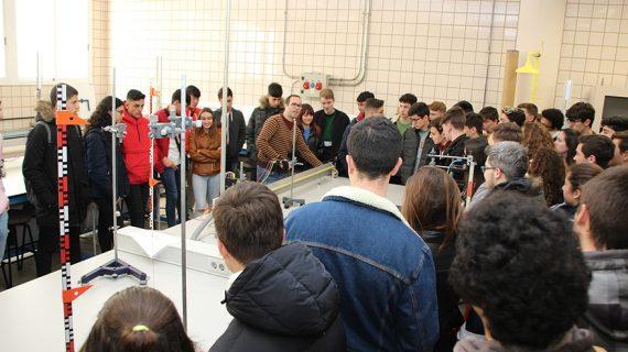 La ETSI recibe a más de 1.400 estudiantes en las jornadas preuniversitarias