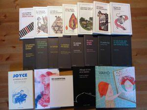 En la imagen, algunos de los libros de Maclein y Parker.