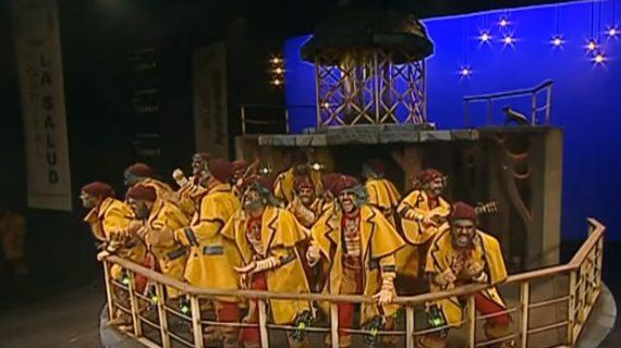 La chirigota de Aragón y la comparsa de Subiela llegan a San Juan de Aznalfarache