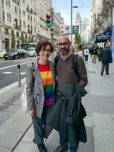 En la imagen, Cecilia Ojeda y Antonio Abad, editores de Maclein y Parker.