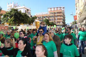 I Marcha solidaria contra el cáncer en San Juan.