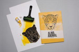 En la imagen, la portada el libro 'Alma animal'.