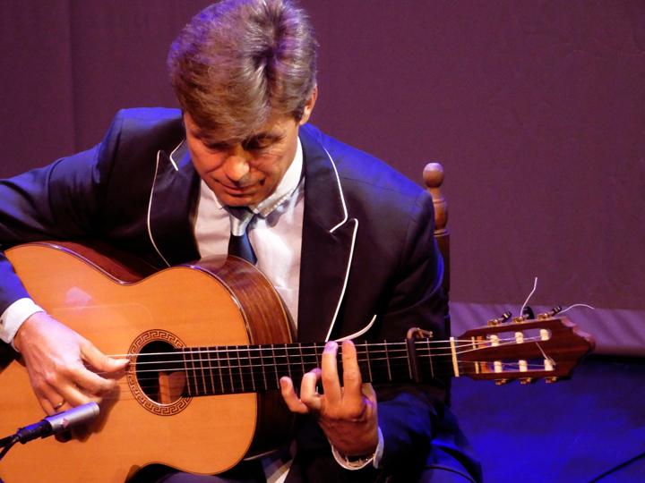 El guitarrista Pedro Sierra presenta 'El llanto de la guitarra'.
