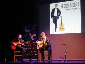 Pedro Sierra, nacido en Hospitalet (Barcelona), es sevillano de adopción.