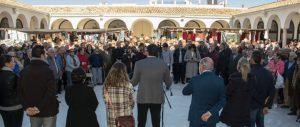 En la imagen, en el acto de inauguración de la nueva Plaza de Abastos de Estepa.