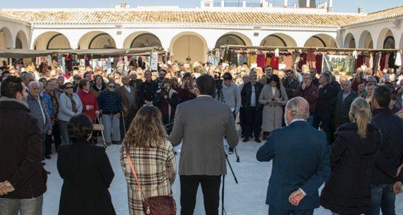 La Plaza de Abastos de Estepa abre sus puertas tras diez años de cierre