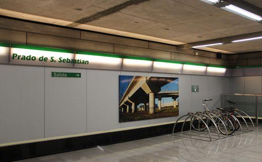 Nuevos bicicleteros en el Metro para fomentar la ecomovilidad