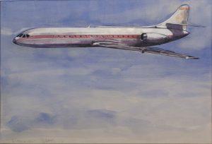 En la imagen, la obra 'Un pedazo de cielo', de Ricardo Cadenas.