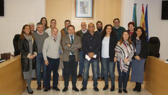 Mairena del Alcor recibe al delegado saharaui para Andalucía