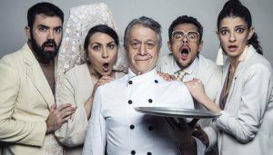 En la imagen, el elenco de 'La boda de tus muertos'.
