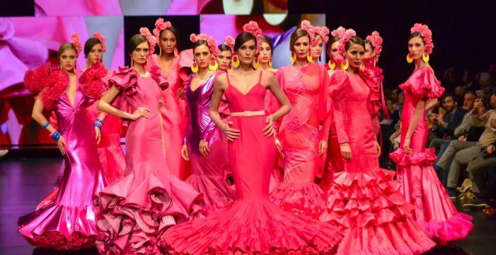 Más de 70.000 personas aplaudieron la moda flamenca en el 25 Aniversario de Simof