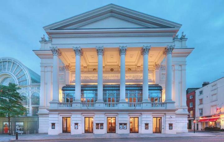 En la imagen, la Royal Opera House de Londres.