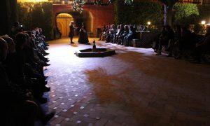Visitas teatralizadas nocturnas en el Real Alcázar de Sevilla.