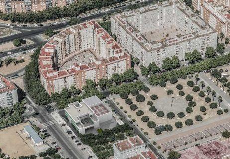 El parque municipal incorpora 11 viviendas protegidas en la capital