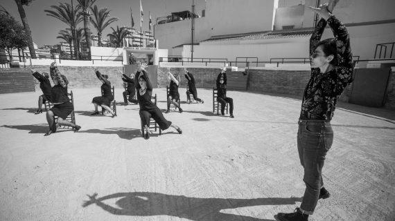 La danza llega a Bellavista-La Palmera de la mano del programa 'Bailar mi barrio'