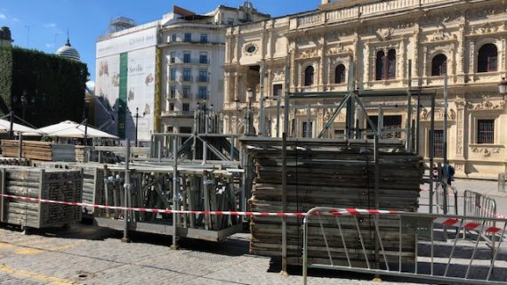 Ofertadas más de 100 plazas diarias en sillas y palcos para personas con diversidad funcional