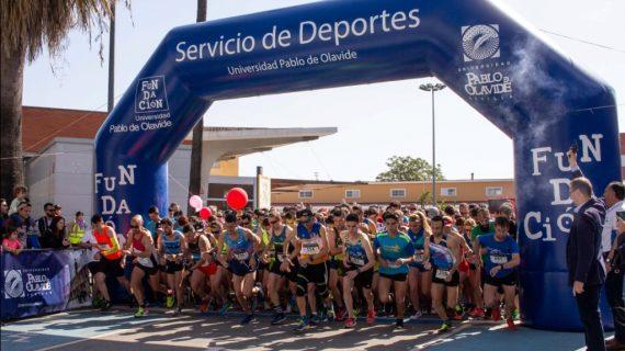 Gonzalo García y Sigrid Averland se imponen en la V Carrera Popular de la UPO