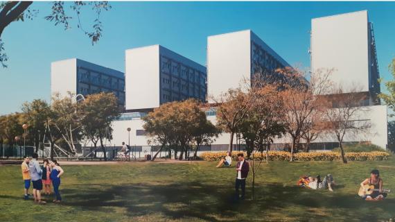 La nueva Escuela Politécnica de la Cartuja tendrá un aulario con más de 4.200 m²