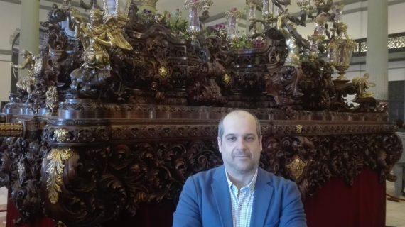 """Francis Verdugo: """"No habrá otra obra que sentimentalmente supere al paso para el Nazareno del Cerro"""""""