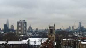En la imagen, las vistas desde la azotea del hotel, con la catedral de St Paul al fondo.