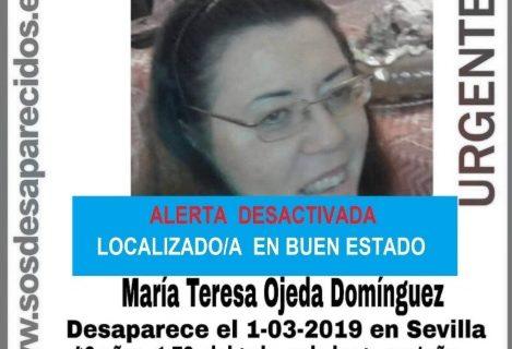 Hallada en buen estado la mujer de 49 años desaparecida este viernes