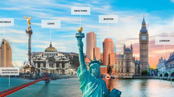 La US ofrece cinco becas de emprendimiento en Estados Unidos, Inglaterra o México