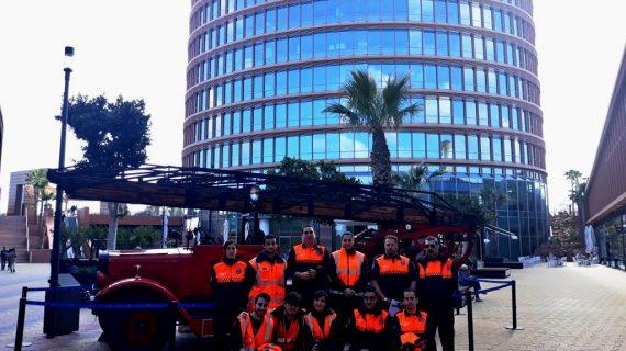 La Semana del Bombero en Sevilla se celebró con la cronoescalada