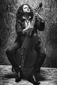 Fahmi Alqhai, músico virtuoso de la viola da gamba.