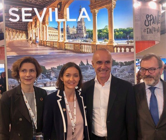 Sevilla se promociona en la capital alemana dentro de la ITB Berlín 2019