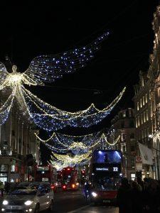 En la imagen, Navidad en Regent Street, una de las calles más emblemáticas de Londres.