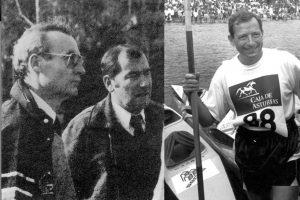Homenaje del Club Piragüismo Triana.