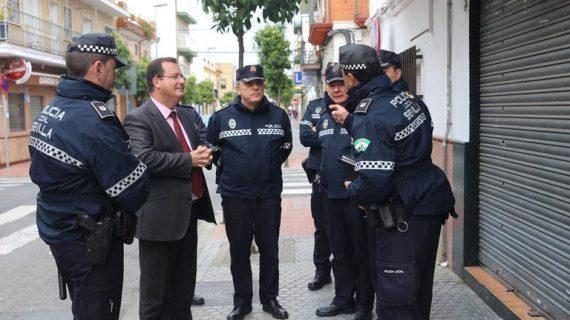 Patrullas a pie para mejorar la seguridad en los barrios