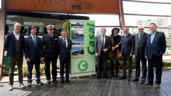 Los autobuses de Casal se suman al V centenario de la primera vuelta al mundo
