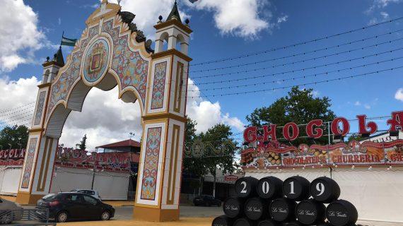 Mairena del Alcor inaugura su Feria de Abril, que es en abril