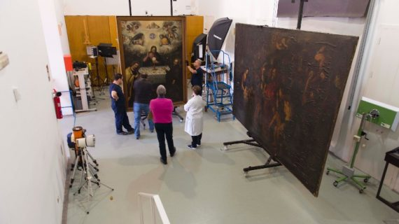 Tres lienzos de la Anunciación de Sevilla serán resguardados como patrimonio