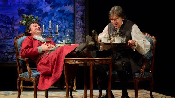 Voltaire y Rousseau se disputan en el Lope de Vega