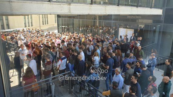 Más de 500 opositores se presentan a las 50 plazas de Policía Local en Sevilla