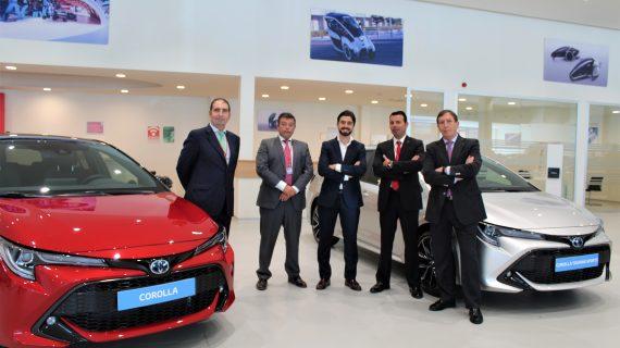 En Sevilla se presentan los nuevos modelos de Toyota Corolla