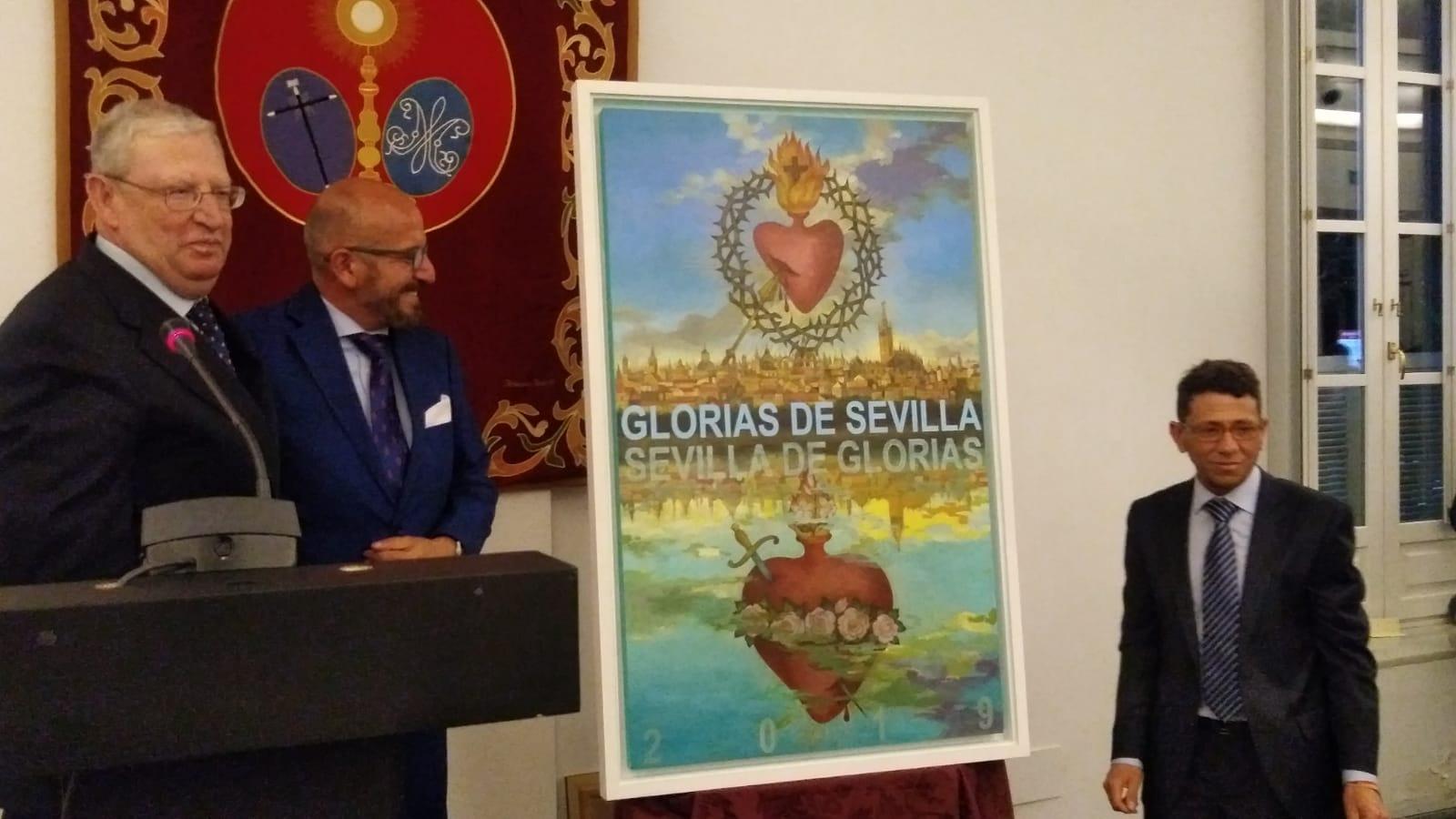 El cartel de las Glorias de Sevilla está hecho con el corazón