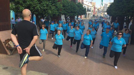 El Parque El Centro de Alcalá se convierte en una gran pista de deporte
